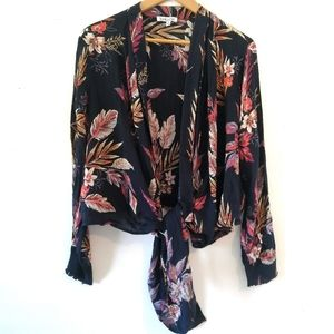 Floral cardigan small